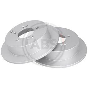 Bremsscheibe Bremsscheibendicke: 10mm, Felge: 5-loch, Ø: 284mm mit OEM-Nummer 58411-3A300