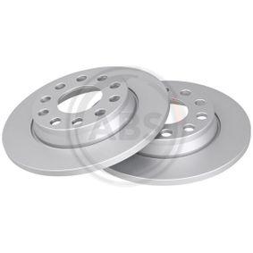 Bremsscheibe Bremsscheibendicke: 12mm, Felge: 5-loch, Ø: 255mm mit OEM-Nummer 8E0.615.601D