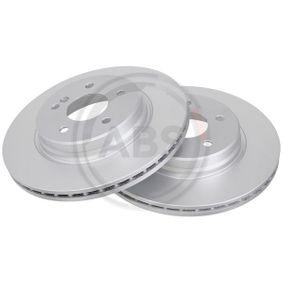 Bremsscheibe Bremsscheibendicke: 22mm, Felge: 5-loch, Ø: 300mm mit OEM-Nummer 210 423 08 12