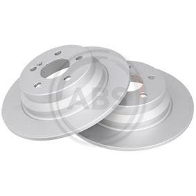 Bremsscheibe Bremsscheibendicke: 10mm, Felge: 5-loch, Ø: 300mm mit OEM-Nummer A2114230712