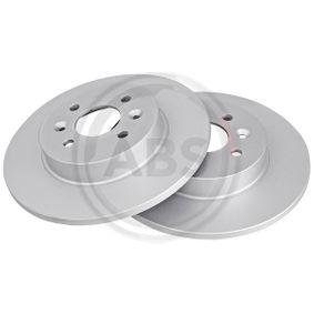 Bremsscheibe Bremsscheibendicke: 12mm, Felge: 4-loch, Ø: 280mm mit OEM-Nummer 7701 207 227