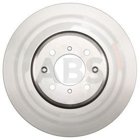 Спирачен диск дебелина на спирачния диск: 25,0мм, джанта: 4-дупки, Ø: 282,0мм с ОЕМ-номер SDB000440
