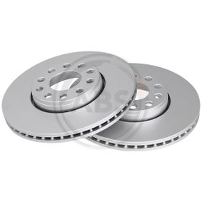 Bremsscheibe Bremsscheibendicke: 25mm, Felge: 5-loch, Ø: 288mm mit OEM-Nummer 4B0 615 301B