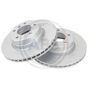 Bremsscheibe Bremsscheibendicke: 23,9mm, Felge: 5-loch, Ø: 310,0mm mit OEM-Nummer 34 116 764 021