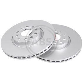 Disc frana Grosime disc frana: 25,0mm, Janta: 5-gaura, Ř: 312,0mm cu OEM Numar JZW615301H
