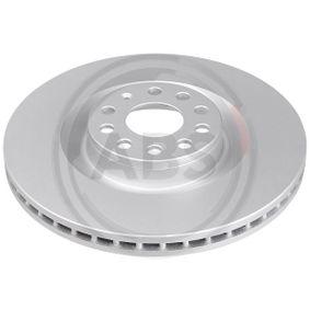 Спирачен диск дебелина на спирачния диск: 30,0мм, джанта: 5-дупки, Ø: 345,0мм с ОЕМ-номер 1K0615301AB