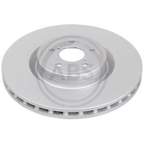 Bremsscheibe Bremsscheibendicke: 30,0mm, Felge: 5-loch, Ø: 326,0mm mit OEM-Nummer 26300-FE000