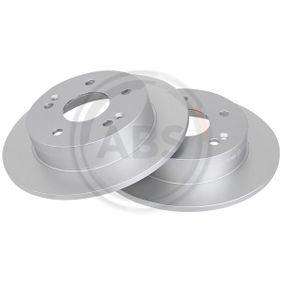 Bremsscheibe Bremsscheibendicke: 9mm, Felge: 5-loch, Ø: 260mm mit OEM-Nummer 42510S87A00