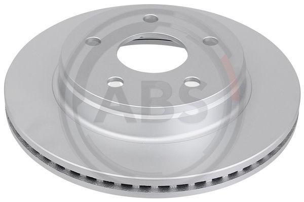 A.B.S.  17606 Bremsscheibe Bremsscheibendicke: 28mm, Felge: 5-loch, Ø: 336mm