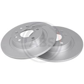 Bremsscheibe Bremsscheibendicke: 10,0mm, Felge: 5-loch, Ø: 278,0mm mit OEM-Nummer 93 18 4247