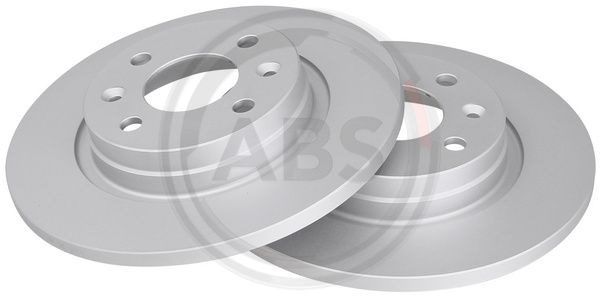 A.B.S.  17619 Bremsscheibe Bremsscheibendicke: 12mm, Felge: 4-loch, Ø: 259mm