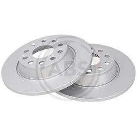 Brake Disc Brake Disc Thickness: 12mm, Rim: 5-Hole, Ø: 282mm with OEM Number 5Q0615601G