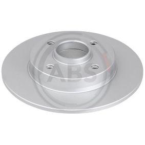 Disco de travão Espessura do disco de travão: 9mm, Jante: 4furos, Ø: 249mm com códigos OEM 4249-34