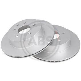 2013 Nissan Qashqai j10 1.5 dCi Brake Disc 17632