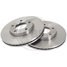 2010 Mazda 3 BL 2.0 (BLEFP) Brake Disc 17636