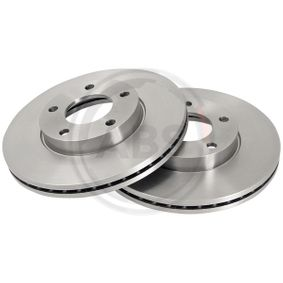 Brake Disc Brake Disc Thickness: 25mm, Rim: 5-Hole, Ø: 278mm with OEM Number C24Y3325XC9A
