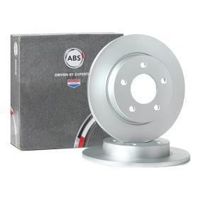 2011 Mazda 3 BL 1.6 MZR CD Brake Disc 17638