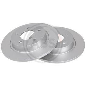 Brake Disc 17639 3 (BL) 2.5 MY 2010