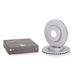 Brake Disc Brake Disc Thickness: 26mm, Rim: 5-Hole, Ø: 280mm with OEM Number 51712-1D-100