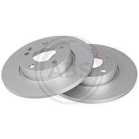Bremsscheibe Bremsscheibendicke: 12mm, Felge: 5-loch, Ø: 276mm mit OEM-Nummer A 169 421 00 12