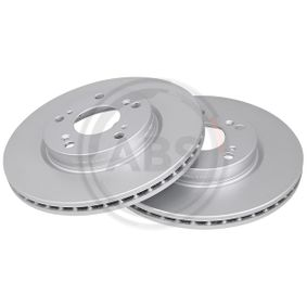 Brake Disc Brake Disc Thickness: 23mm, Rim: 5-Hole, Ø: 282mm with OEM Number 45251-SMG-E31