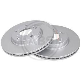 Brake Disc Brake Disc Thickness: 23mm, Rim: 5-Hole, Ø: 282mm with OEM Number 45251SMGE30