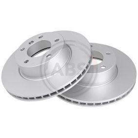 Bremsscheibe Bremsscheibendicke: 24mm, Felge: 5-loch, Ø: 300mm mit OEM-Nummer 34116772669
