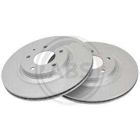 Bremsscheibe Bremsscheibendicke: 18mm, Felge: 5-loch, Ø: 302mm mit OEM-Nummer F15226251