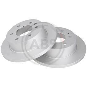 Bremsscheibe Bremsscheibendicke: 16mm, Felge: 6-loch, Ø: 298mm mit OEM-Nummer A 906 423 0012