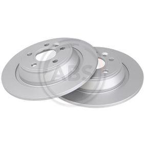 Bremsscheibe Bremsscheibendicke: 11mm, Felge: 5-loch, Ø: 302mm mit OEM-Nummer LR-027123