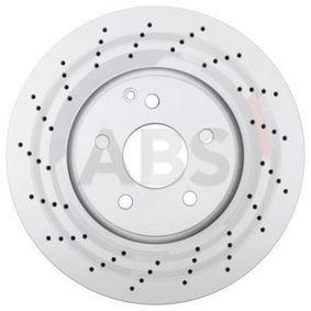Disco freno Spessore disco freno: 32mm, Cerchione: 5-fori, Ø: 322mm con OEM Numero 204 421 1012