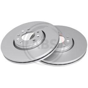 Brake Disc Brake Disc Thickness: 28mm, Rim: 5-Hole, Ø: 304mm with OEM Number 16 188 651 80