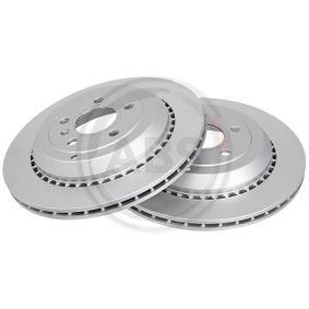 Спирачен диск дебелина на спирачния диск: 22,0мм, джанта: 5-дупки, Ø: 330,0мм с ОЕМ-номер A1644231312