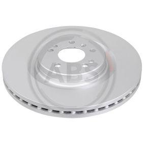 Спирачен диск дебелина на спирачния диск: 32,0мм, джанта: 5-дупки, Ø: 350,0мм с ОЕМ-номер 1644210512
