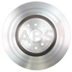 A.B.S. COATED 17918 Bremsscheibe Bremsscheibendicke: 30,0mm, Felge: 5-loch, Ø: 326,0mm