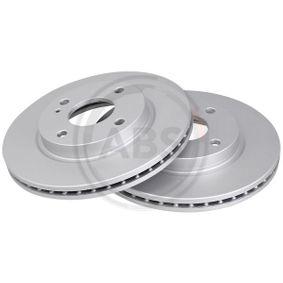 Brake Disc Brake Disc Thickness: 23mm, Rim: 4-Hole, Ø: 258mm with OEM Number 8V51-1125-AC