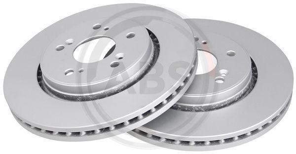 A.B.S. COATED 17962 Brake Disc Brake Disc Thickness: 28mm, Rim: 5-Hole, Ø: 294mm