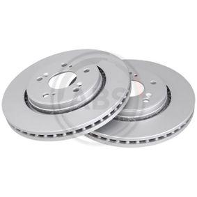 Brake Disc Brake Disc Thickness: 28mm, Rim: 5-Hole, Ø: 294mm with OEM Number 45251-SWW-G01