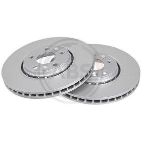 Brake Disc Brake Disc Thickness: 28mm, Rim: 5-Hole, Ø: 320mm with OEM Number 40 20 600 03R