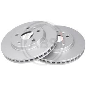 Bremsscheibe Bremsscheibendicke: 30mm, Felge: 5-loch, Ø: 296mm mit OEM-Nummer 5 69 063