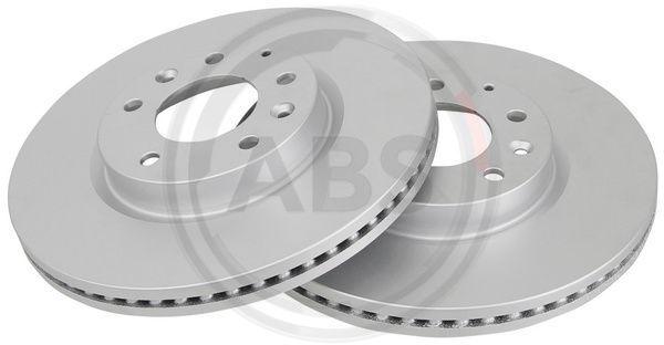 A.B.S. COATED 18003 Bremsscheibe Bremsscheibendicke: 25mm, Felge: 5-loch, Ø: 299mm