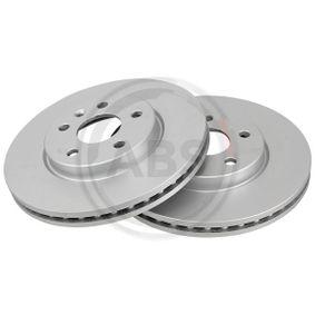 Bremsscheibe Bremsscheibendicke: 26mm, Felge: 5-loch, Ø: 276mm mit OEM-Nummer 5 69 073