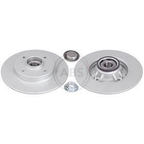 Bremsscheibe Bremsscheibendicke: 9mm, Felge: 4-loch, Ø: 249mm mit OEM-Nummer 4249-65