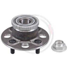 Radnabe Zähnez. ABS-Ring: 50 mit OEM-Nummer 42200S5A008