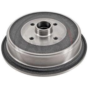 Bremstrommel Br.Tr.Durchmesser außen: 290mm, Felge: 4-loch mit OEM-Nummer 443 501 615