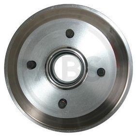 Brake Drum Outer Br. Sh. Diameter: 216mm, Rim: 4-Hole with OEM Number 6 492 327