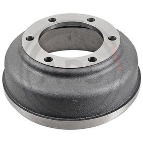 Brake Drum Outer Br. Sh. Diameter: 316,5mm, Rim: 6-Hole with OEM Number 92VB1126BA