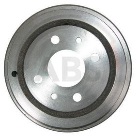 Brake Drum 2416-S PUNTO (188) 1.2 16V 80 MY 2006