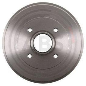 Bremstrommel Br.Tr.Durchmesser außen: 234mm, Felge: 4-loch mit OEM-Nummer 77 00 818 346