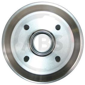 Brake Drum Outer Br. Sh. Diameter: 216mm, Rim: 4-Hole with OEM Number 4 034 886